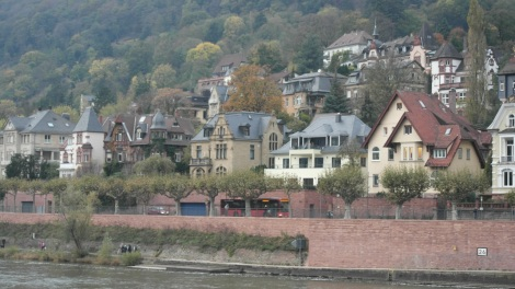 View of the Neckar River