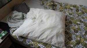 Lumpy pillow love